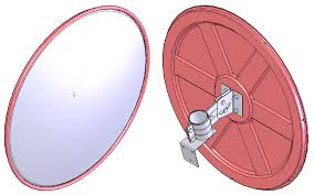 convex mirrors security safety