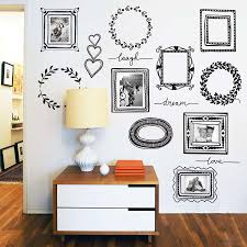 Large Picture Frame Wall Decal Photo Stickers Uk Ikea Design Online Target Vamosrayos