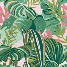 mind the gap wallpaper tropical