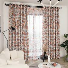 2020 Modern Geometric Printed Curtains For Kids Room Living Room Bedroom Window Blackout Kitchen Curtain Sheer Tulle Window Treatment From Bigmum 4 19 Dhgate Com