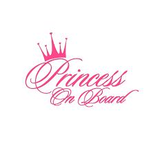 16 5x10 9cm Pink Princess Car Sticker Baby On Board Warning Sign Sticker On Car Decoration Vinyl Stickers And Decals Car Styling Car Stickers Aliexpress