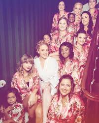 Taylor and Abigail's bridal party : TaylorSwift
