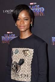 LETITIA WRIGHT at Black Panther Welcome ...