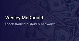 Wesley McDonald Net Worth (2020) | wallmine