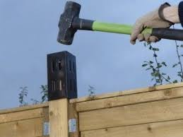 Adding Trellis To A Fence Fence Post Trellis Fence Diy Fence