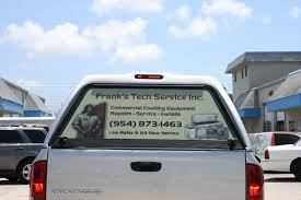 See Through Rear Window Advertising Wraps Graphics