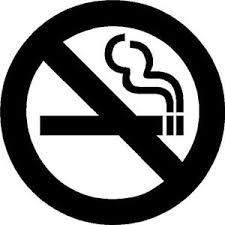 No Smoking Sign Symbol Vinyl Decal Truck Car Door Window Uber Lyft Driver Ebay