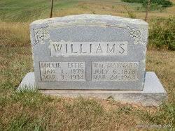 Millie Effie Henderson Williams (1879-1934) - Find A Grave Memorial