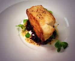 Pan Seared Halibut Braised Red Cabbage ...
