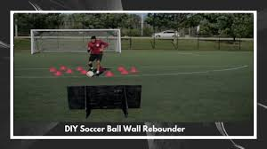 diy homemade soccer ball wall rebounder