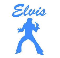 Elvis Presley Vinyl Sticker Decal Free Buy 1 Get 1