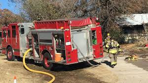 Sand Springs firefighter hospitalized after battling house fire ...