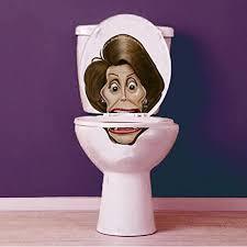 Barack Obama Vinyl Toilet Lid Decal Sticker Set By Bowlfacedliar Com