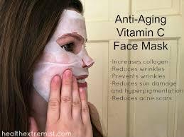 anti aging diy vitamin c face mask