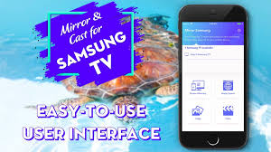 mirror for samsung tv app for iphone