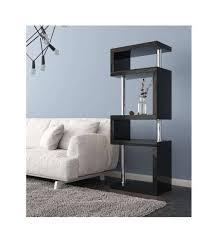 tall black shelf unit enchanting