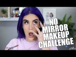 no mirror makeup challenge nicole