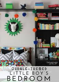 A Jungle Themed Little Boy S Room The Reveal The Homes I Have Made