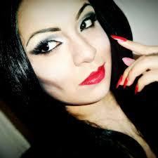 halloween makeup morticia addams