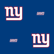 new york giants line pattern blue