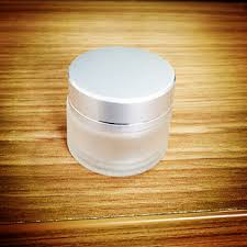 10gr clear frosted glass jars 10ml