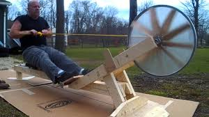 home built rowing machine you