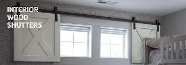 interior barn door rustic shutters
