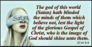 the god of this world  hath blinded the minds of them which believe not,  lest the light of the glorious gospel of Christ, 이미지 검색결과