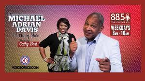 Michael Adrian Davis - 88.5FM - YouTube
