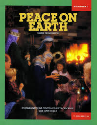 peace on earth comes from heaven