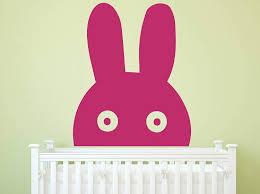 Nursery Wall Decal Bunny Vinyl Decor Wall Decal Customvinyldecor Com