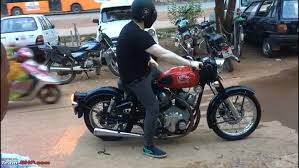 the twin cylinder 750cc royal enfield
