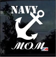 Navy Mom Anchor Military Window Decal Stickers Custom Sticker Shop