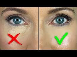 under eye concealer creasing
