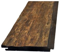 rustic faux wood planks set of 9