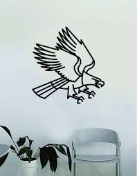 Eagle Traditional Tattoo Wall Decal Home Decor Art Bedroom Room Sticke Boop Decals