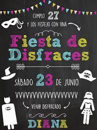 Tarjetas De Invitacion Para Fiesta De Disfraces Adultos Drawbujo