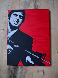 Large Scarface Tony Montana Film Mural Wall Art Graphic Vinyl Decal Muurversieringen Stickers Huis Bhartiyabazar Com