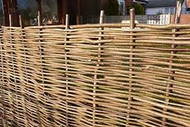 Papillon Premium Hazel Hurdle Woven Wattle Garden Fence Panel 1 8m X 1 5m Next Working Day Delivery With 2 Year Warranty 6ft X 5ft Garden Furniture Accessories Garden Outdoors