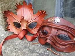 costuming leather mask work kid 101