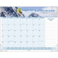 at a glance panoramic motivational monthly desk pad monthly