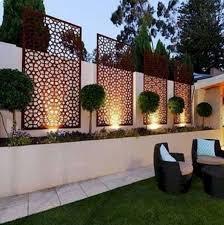 Ideas Of Modern Garden Fence Designs For Summer Ideas Frugal Living Small Garden Design Ideas Low Maintenance Small Garden Design Outdoor Gardens Design