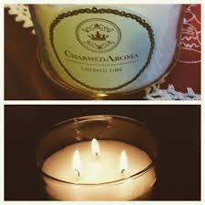 charmed aroma candles and rings