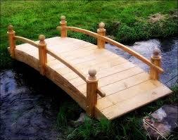 miniature japanese garden bridge