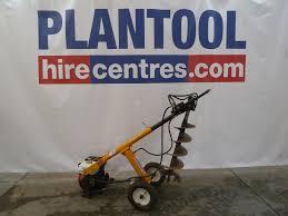 Post Hole Borer Petrol Hydraulic 1 Man Plantool Hire Centres