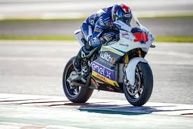 Bradley Smith sets fastest MotoE time on second day of Valencia ...