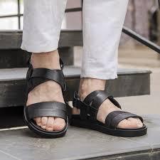 ROZETKA | Мужские кожаные сандалии Bertoni 291009 42 Черный ...