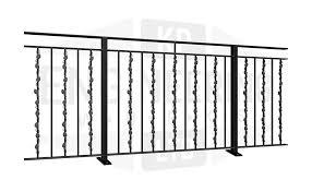 Balcony Railings Garden Railings Metal Balustrade Kp Engineering