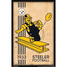 Nfl Pittsburgh Steelers Retro Logo 14