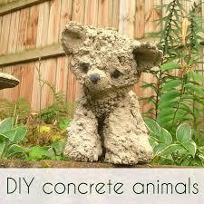 concrete stuffed animals adorable